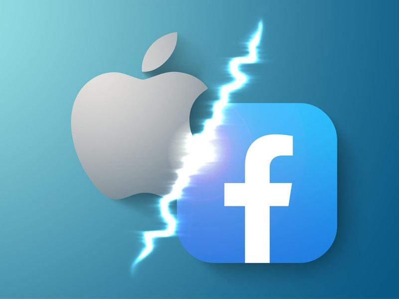 Facebook tuyên chiến với Apple, tự diệt hay tự sinh. Ảnh Macrumors
