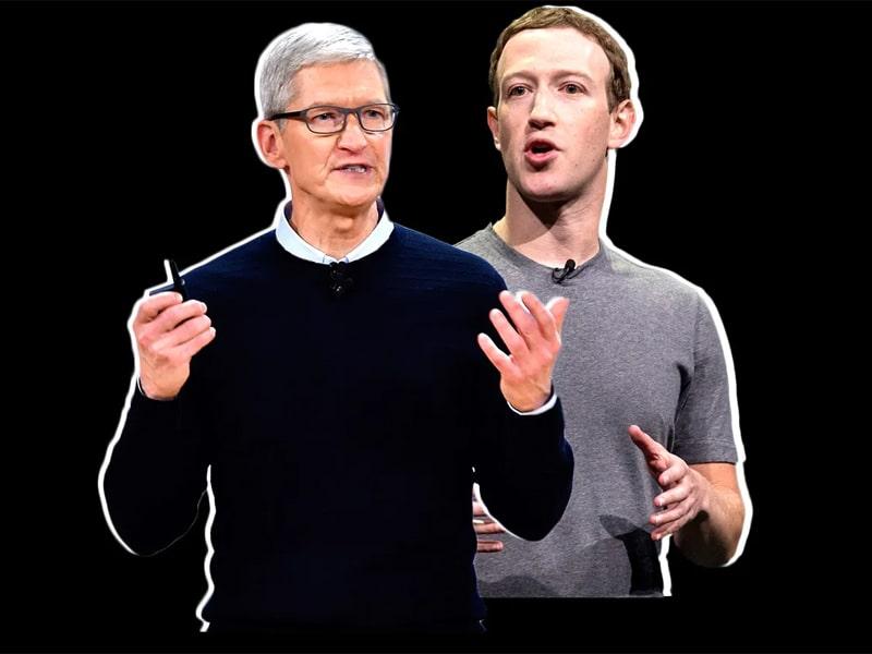 Mark Zuckerberg chính thức tuyên chiến với Tim Cook